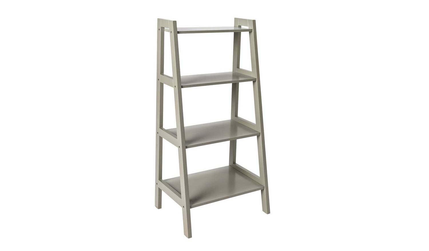 Buy Argos Home Ladder Storage Unit Grey Bathroom Furniture Ladder Storage Grey Bathrooms Bathroom Shelves
