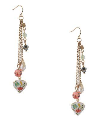 antique embellished earrings