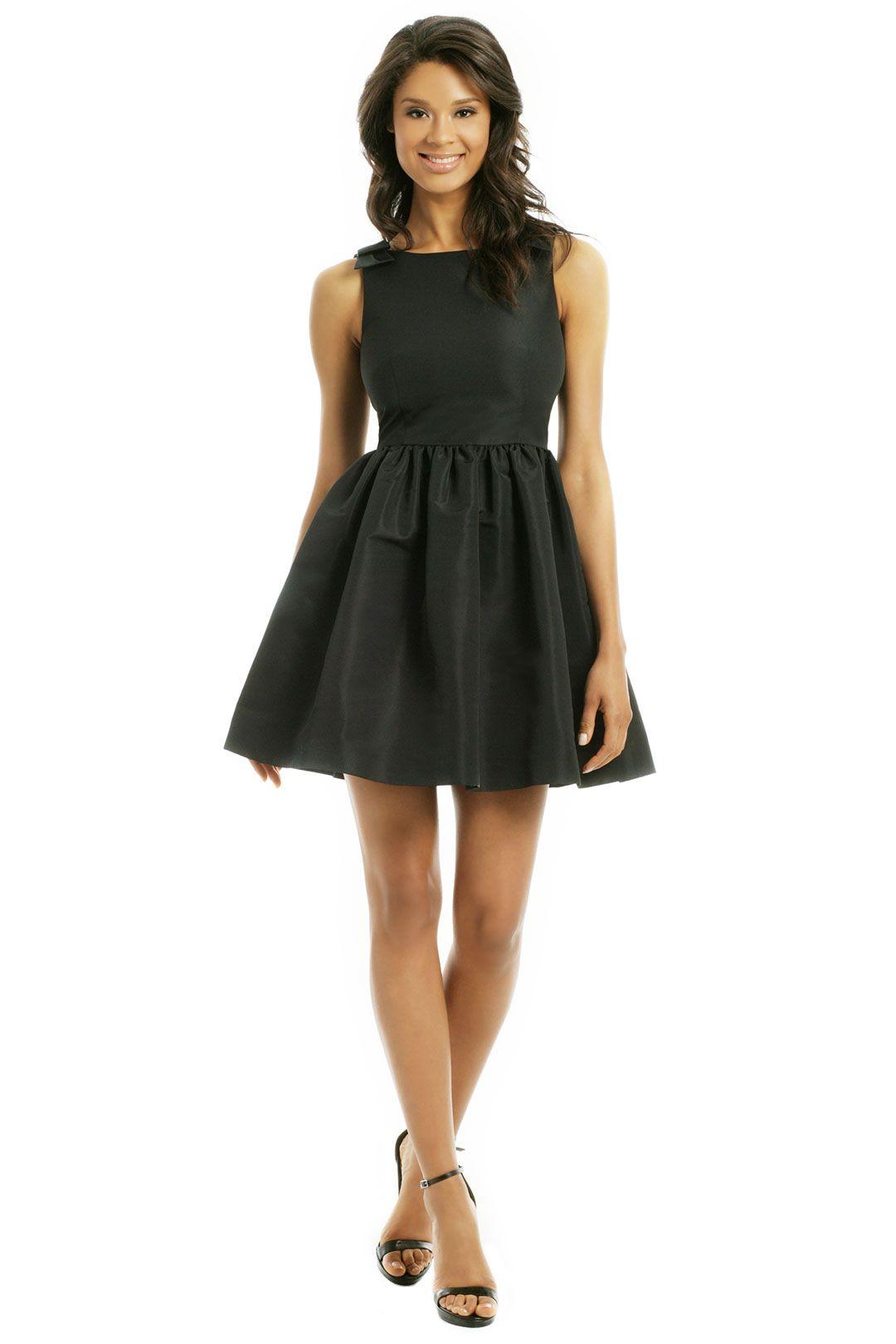 Red Valentino Runaway Bow Tie Dress Black Tie Event Dresses Event Dresses Short Bow Tie Dress