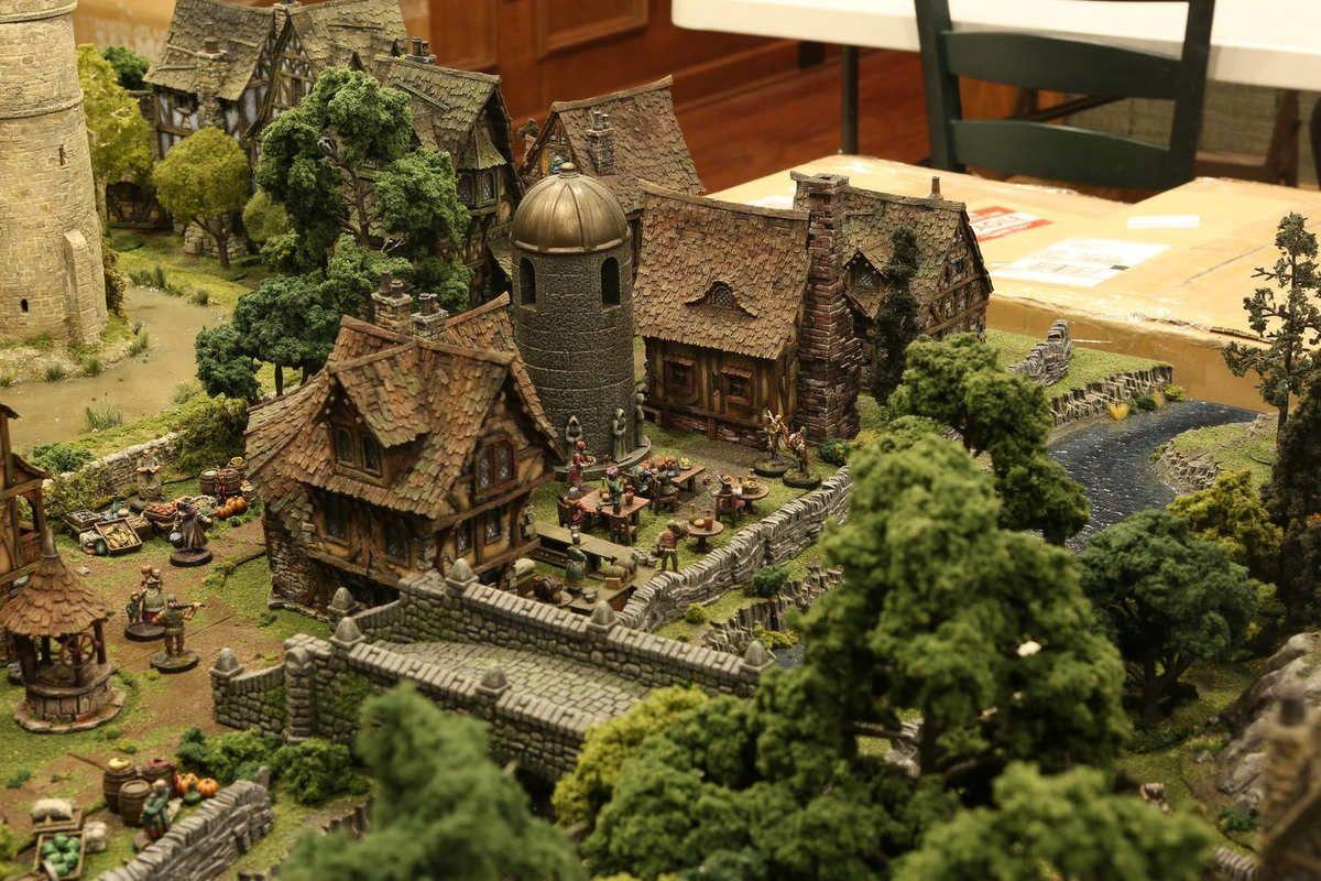 Amazing Tabletop Terrain Fantasy Dungeonsanddragons Gaming