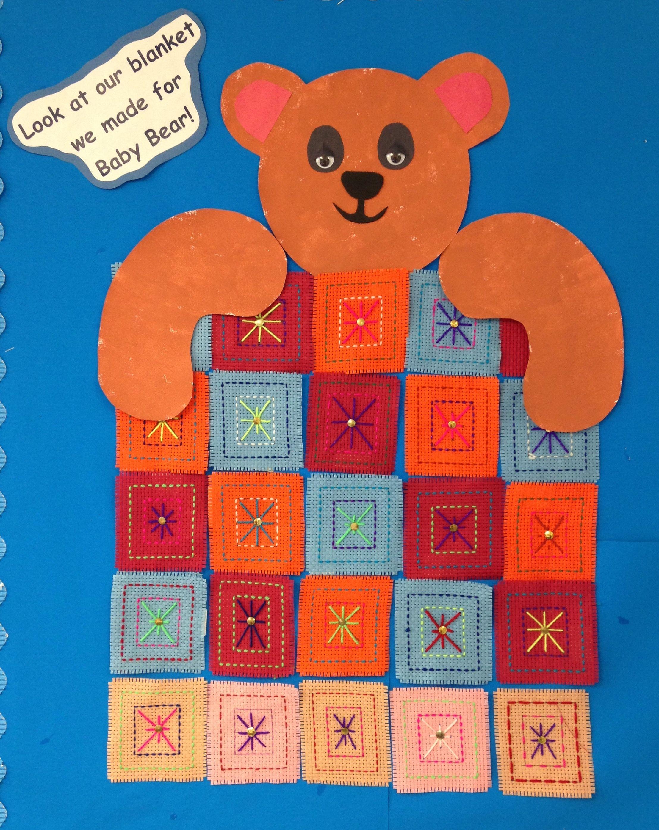 A Blanket For Baby Bear Goldilocks Amp The Three Bears