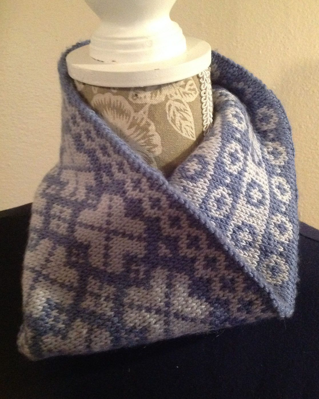 Free Knitting Pattern for Ambiguous Cowl - Stranded Fair Isle cowl ...