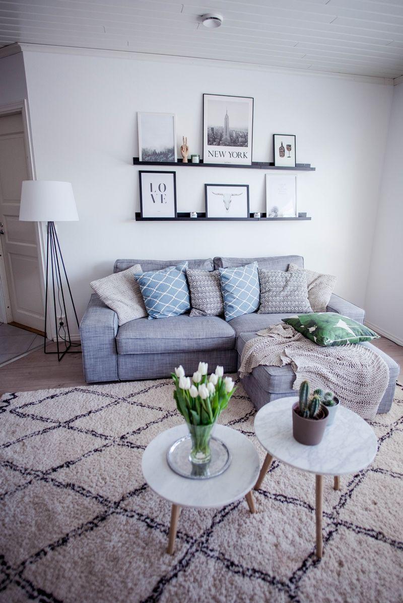 ikea kiviksofa  living room decor apartment living room