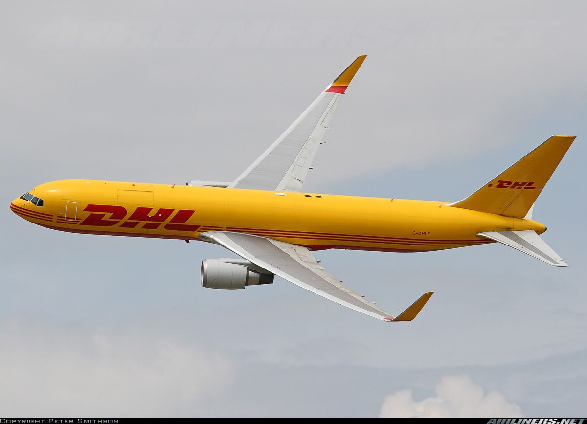 Dhl G Dhlf Boeing 767 3jhf Aircraft Picture Aircraft Boeing 767 Boeing