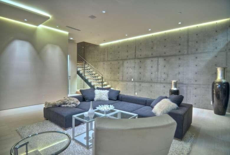 Arredare con le strisce led | Design del soffitto, Idee ...