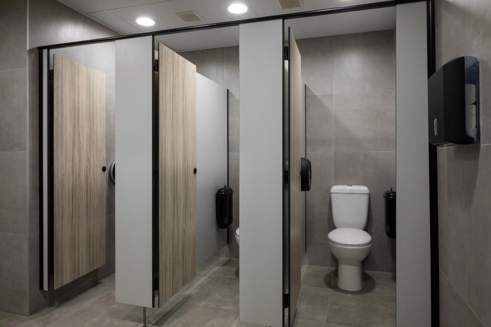 Toilet Black 100mm White Bathroom Changing Room Door//Wall Sign Washroom