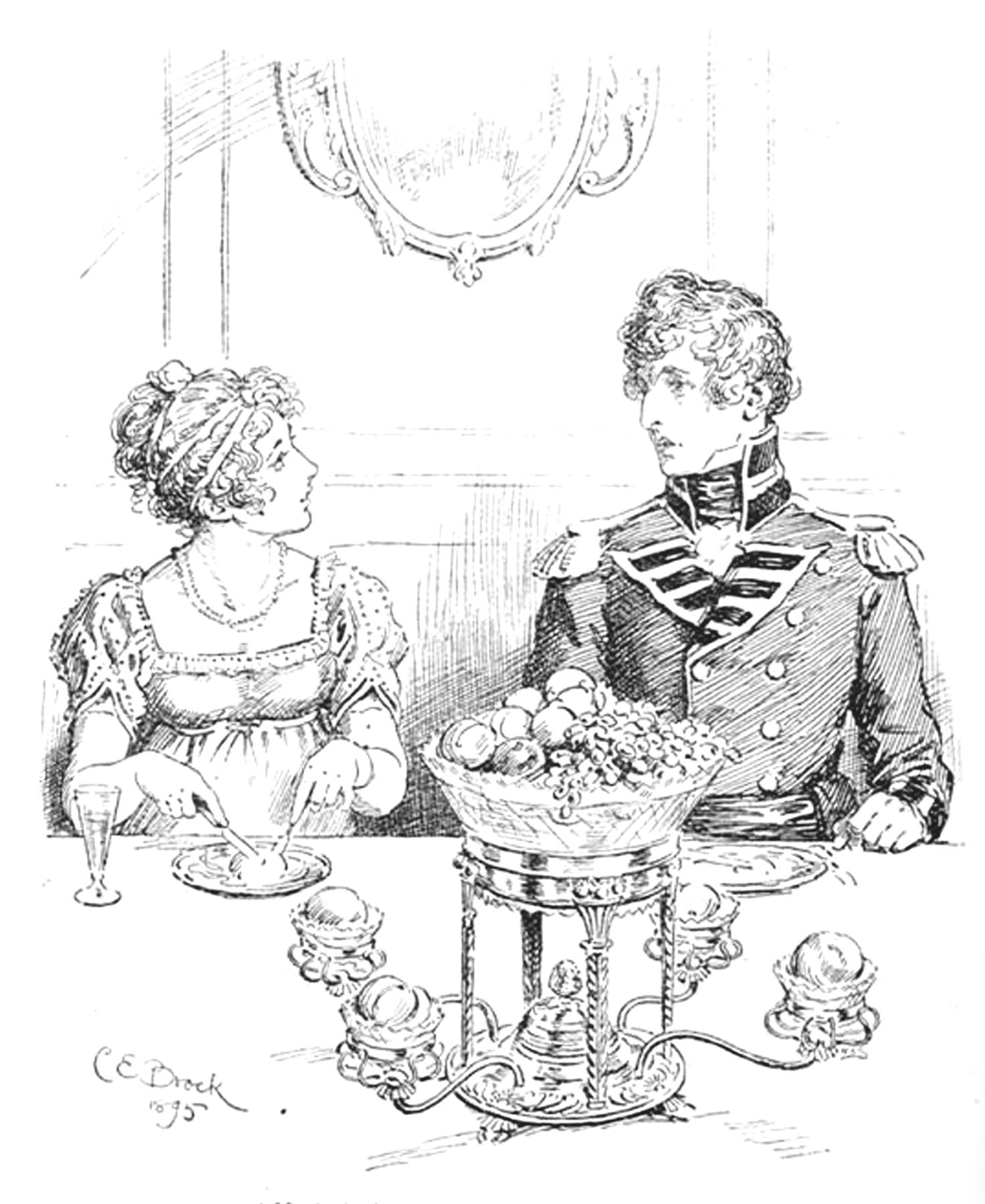 The Regency Dessert Course, The Jane Austen Centre, Bath