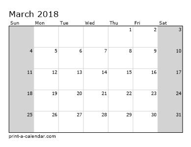 Make Your Own   Or  Printable Calendar Pdf