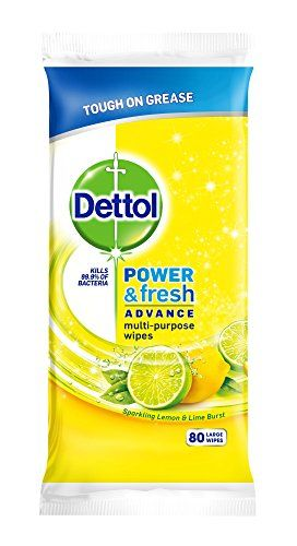 Dettol Power Fresh Multi Purpose Wipes Citrus 320 Wipes