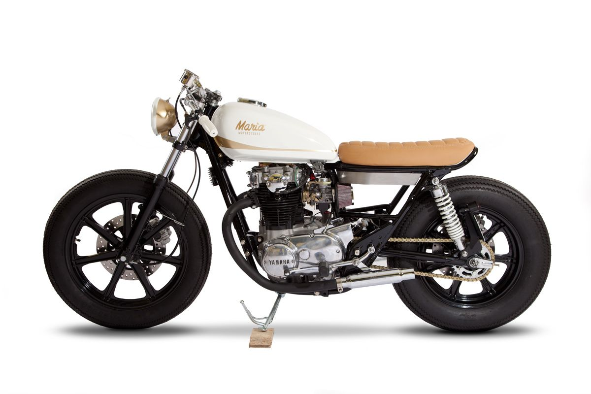 The base bike was a 1980 xs650 in a very poor state cylinders where -  I Wanted To Build A Bike That Would Be Fun For Short Commutes Around The City Says Eric