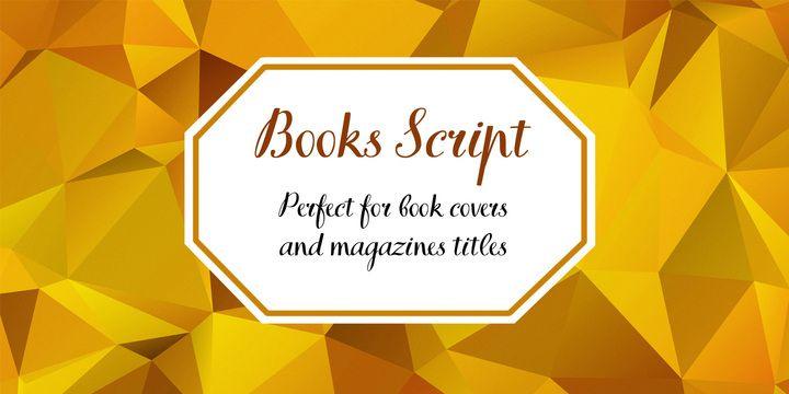 Font dňa – TT Books Script (8,20€) - http://detepe.sk/font-dna-tt-books-script-820e/