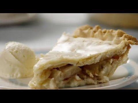 Dessert Recipes - How to Make Glazed Apple Cream Pie