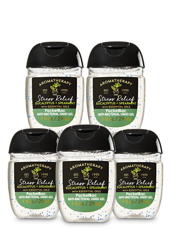 Eucalyptus Spearmint Pocketbac Hand Sanitizers 5 Pack Hand