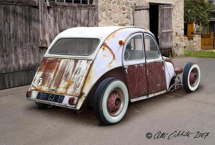 Citroen 2cv Rat Rod Digital Art By Ollierkkila