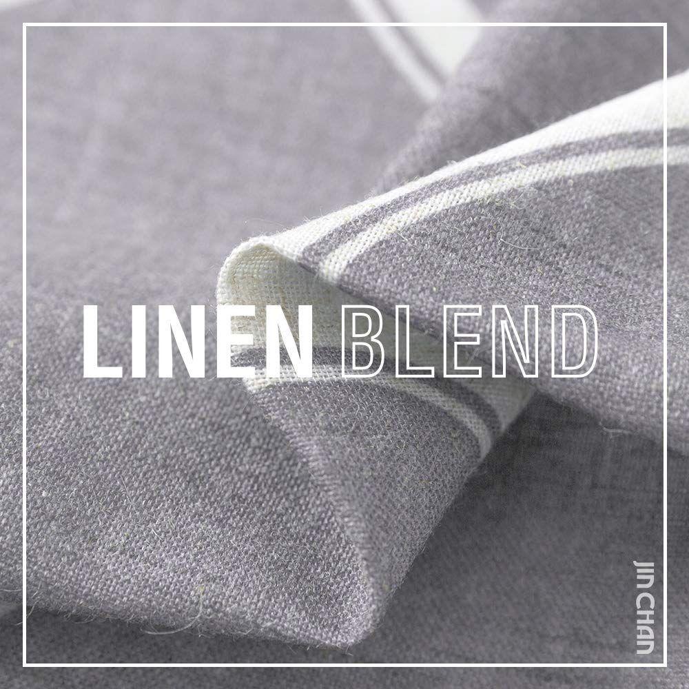 Jinchan Quatrefoil Linen Blend Curtains Moroccan Tile Pattern