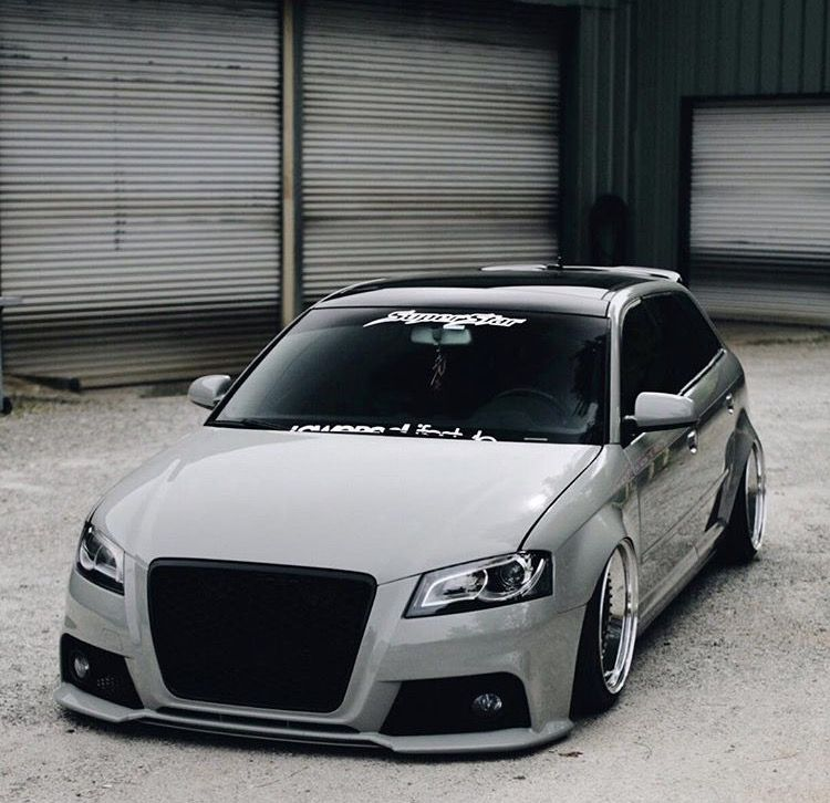 Audi A3 Sportback 8p Custom Auto Body Superstarcustoms Atl