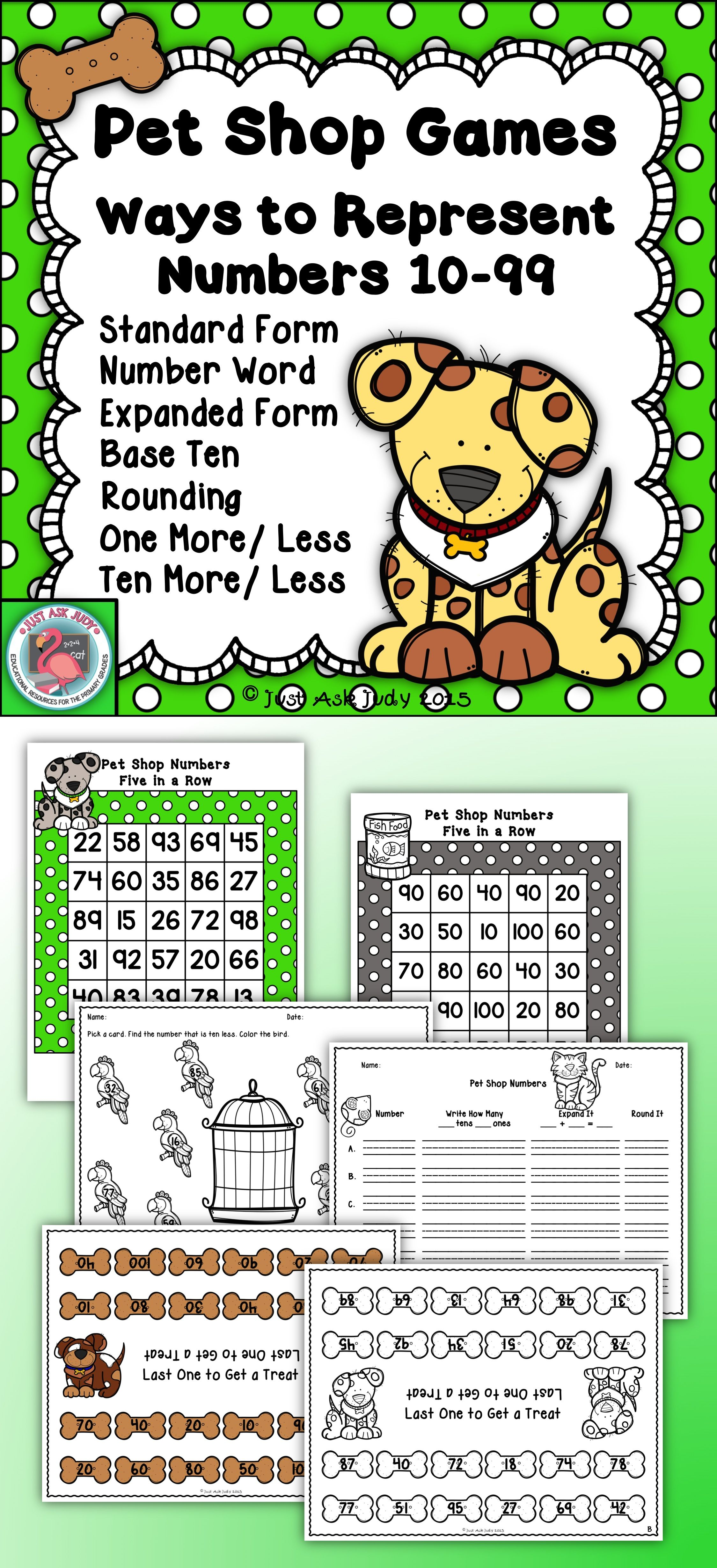 Place value games representing numbers 10 99 pets number 10 pet gaming falaconquin