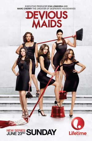 "Watching ""Devious Maids"" and loving it <-- ""Let's be honest: you are not going to find any role models in Lifetime's ""Devious Maids."" If that's what you were hoping for, then you need to tune in to something else. You will find bad behavior, clichéd  characters and a lot of ""I can't believe the did/said that"" moments. I love it."" #hispanichou"