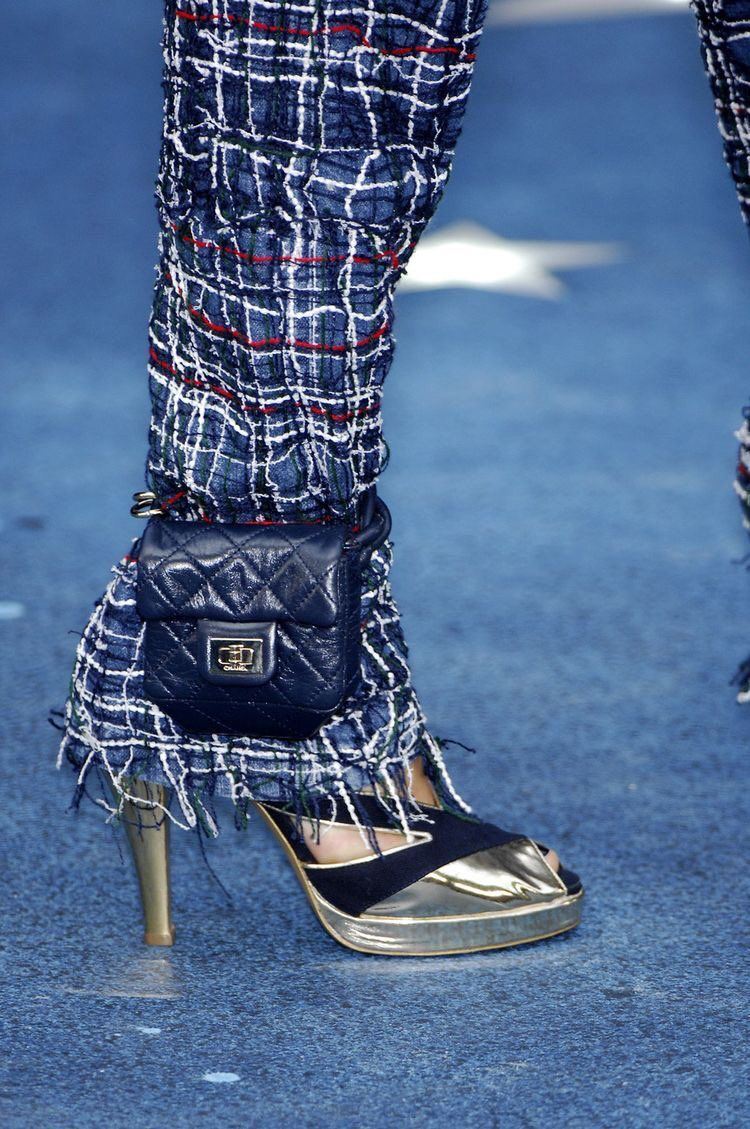 b9c669d8dbad Chanel ankle purses inspired by Lindsay Lohan's ankle monitor ...
