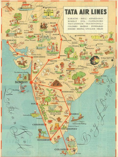When air india was efficient profitable and growing fast air when air india was efficient profitable and growing fast vintage mapsvintage airlinevintage postersvintage gumiabroncs Choice Image