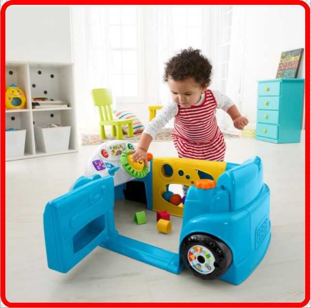 Kids Activity Center For Toddler Educational 2 Year Olds Playset Fun Baby Car Fisherprice Cool Toys For Boys Toys For 1 Year Old Toys For Boys