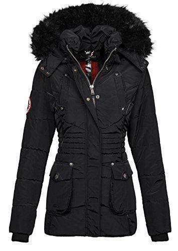 Jacke Damen Designer Winter Mantel Teddyfell Marikoo Parka e2bIWED9YH