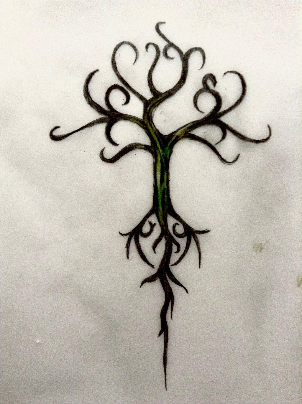 Yggdrasil Design By Miladybyron Deviantart Com On Deviantart Tats