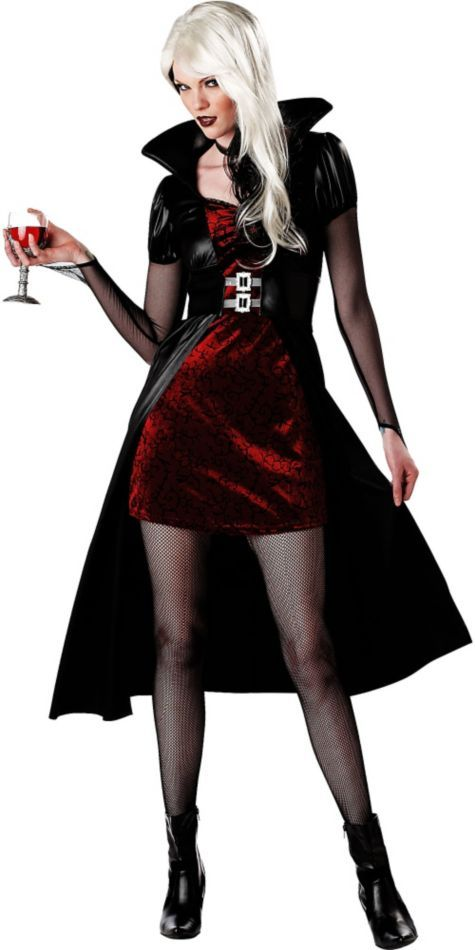 adult blood thirsty beauty vampire costume vampire costumes womens costumes halloween costumes categories party city