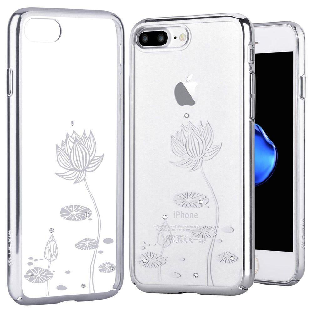 coque iphone 8 transparent fleurs