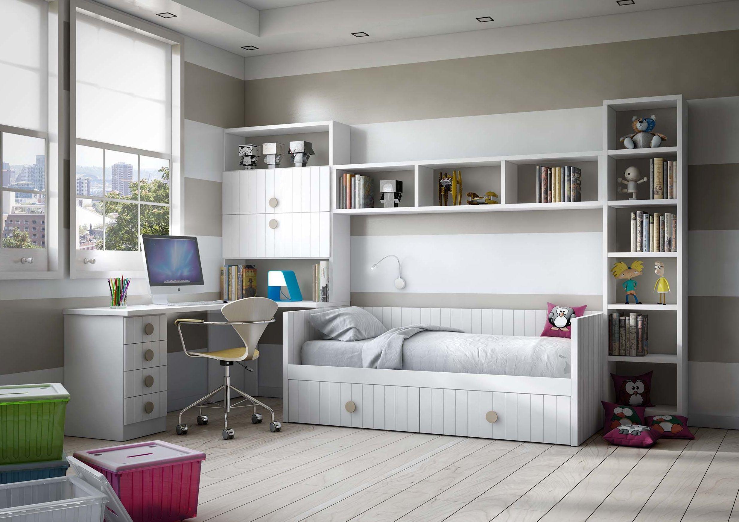 Muebles juveniles modelo Londres