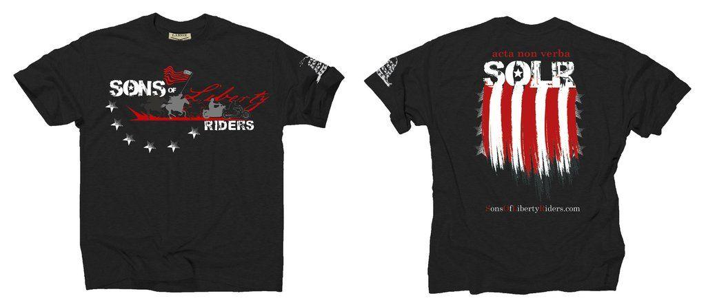 Sons Of Liberty Riders - acta non verba – Grunt Style