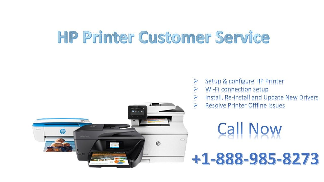 HP Printer Customer Service Offers online 24x7 support