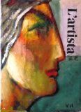 La artista. Oleo sobre periódico. Autor: Portas. Año: 2011.