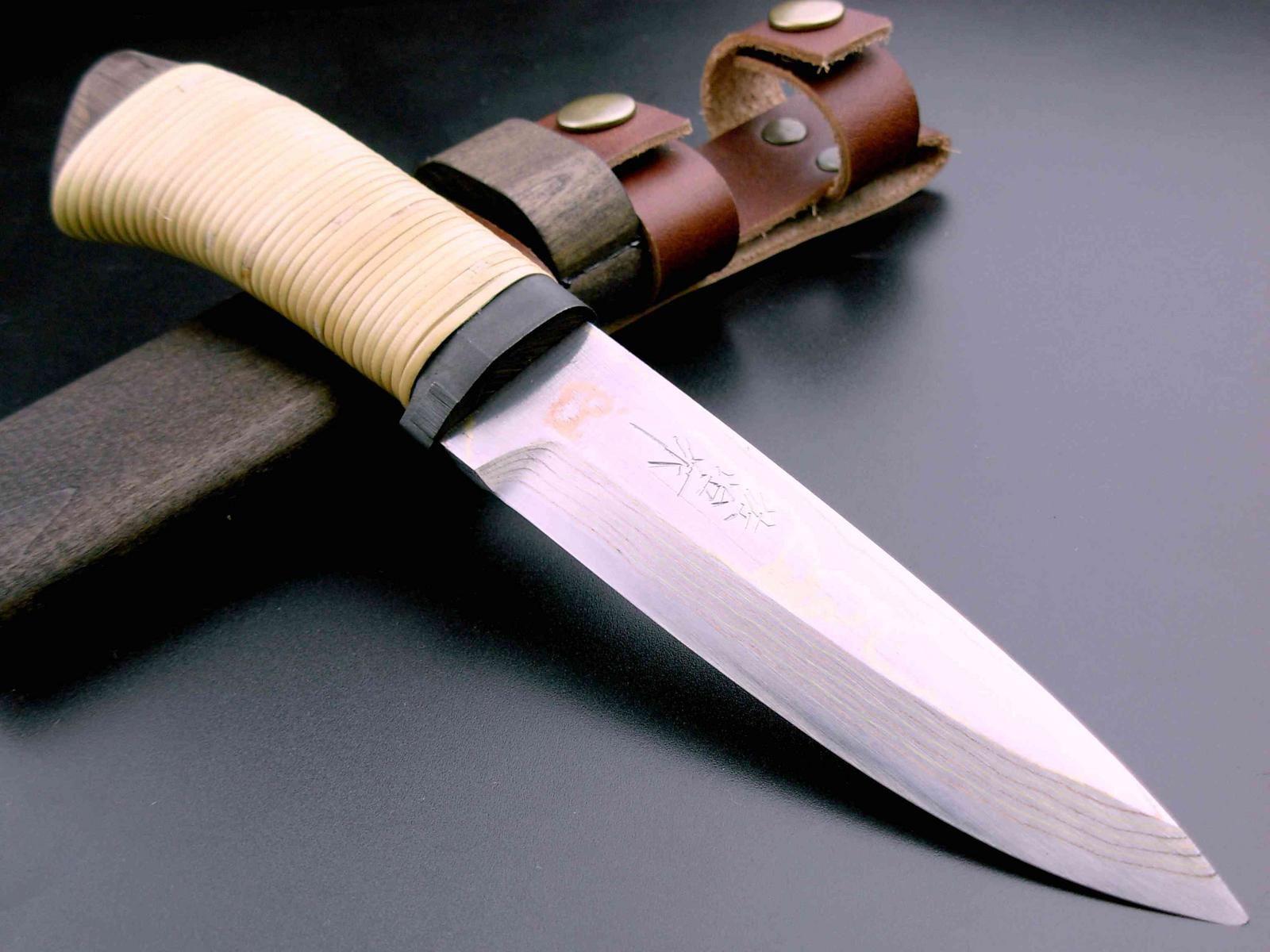 Форма ножей фото японского мастера