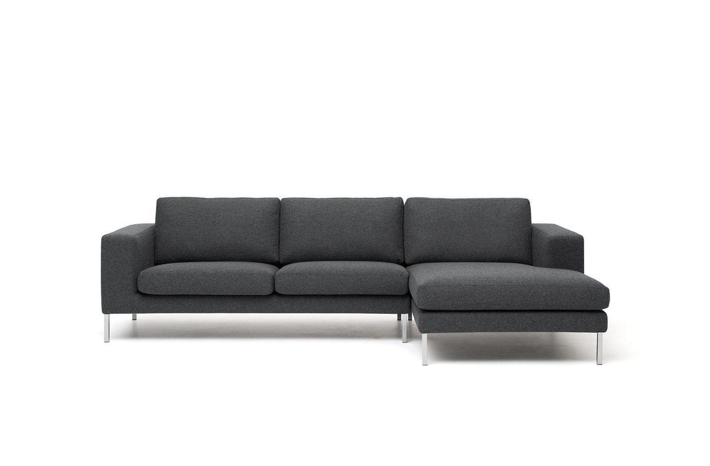 Neo Sectional Sofa Modern Grey Sofa Purple Sofa Contemporary Couches