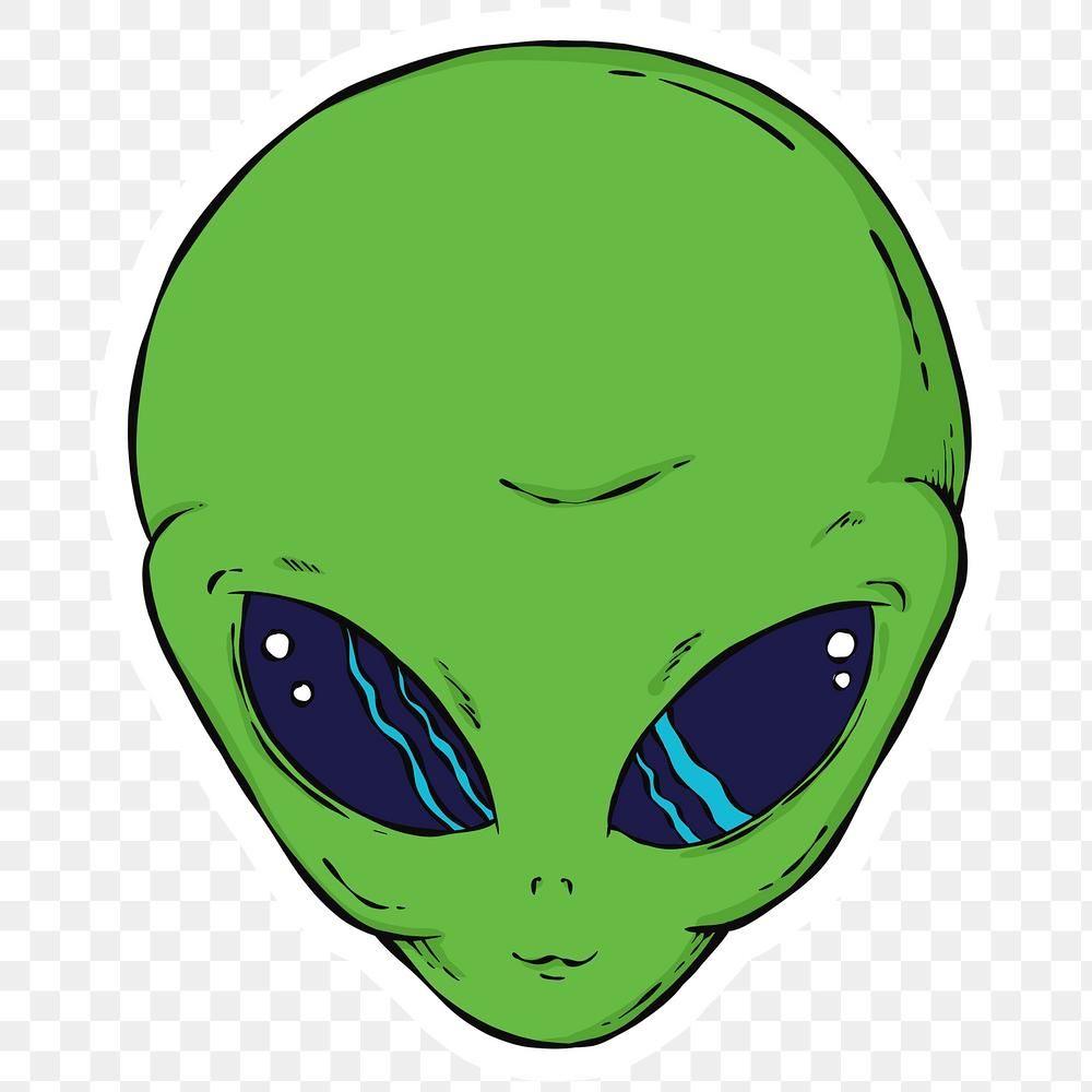 Retro Sci Fi Alien Png Sticker Free Image By Rawpixel Com Noon Alien Vector Alien Art Monsters Vs Aliens
