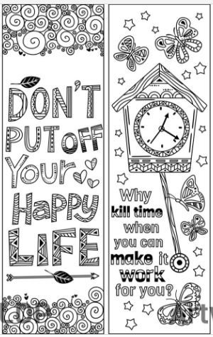 8 Coloring Bookmarks With Quotes Coloring Bookmarks Bible Coloring Pages Inspirational Quotes Coloring