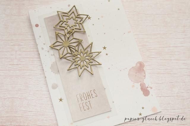 Papiergluck Karten Basteln Weihnachtskarten Basteln Mit Papier