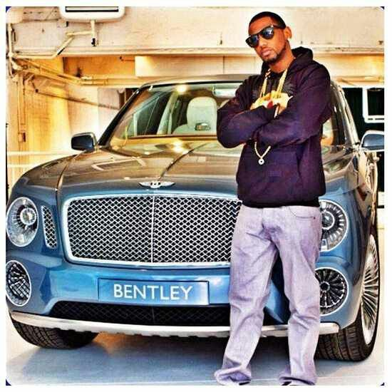 Bentley Luxury Car Inside: Rapper Fabulous And Bentley