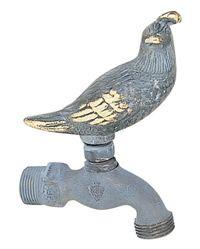 garden hose faucet. Quail Decorative Outdoor Faucet | W-20001 Garden Hose