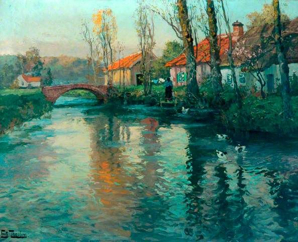 Your Paintings - Fritz Thaulow paintings