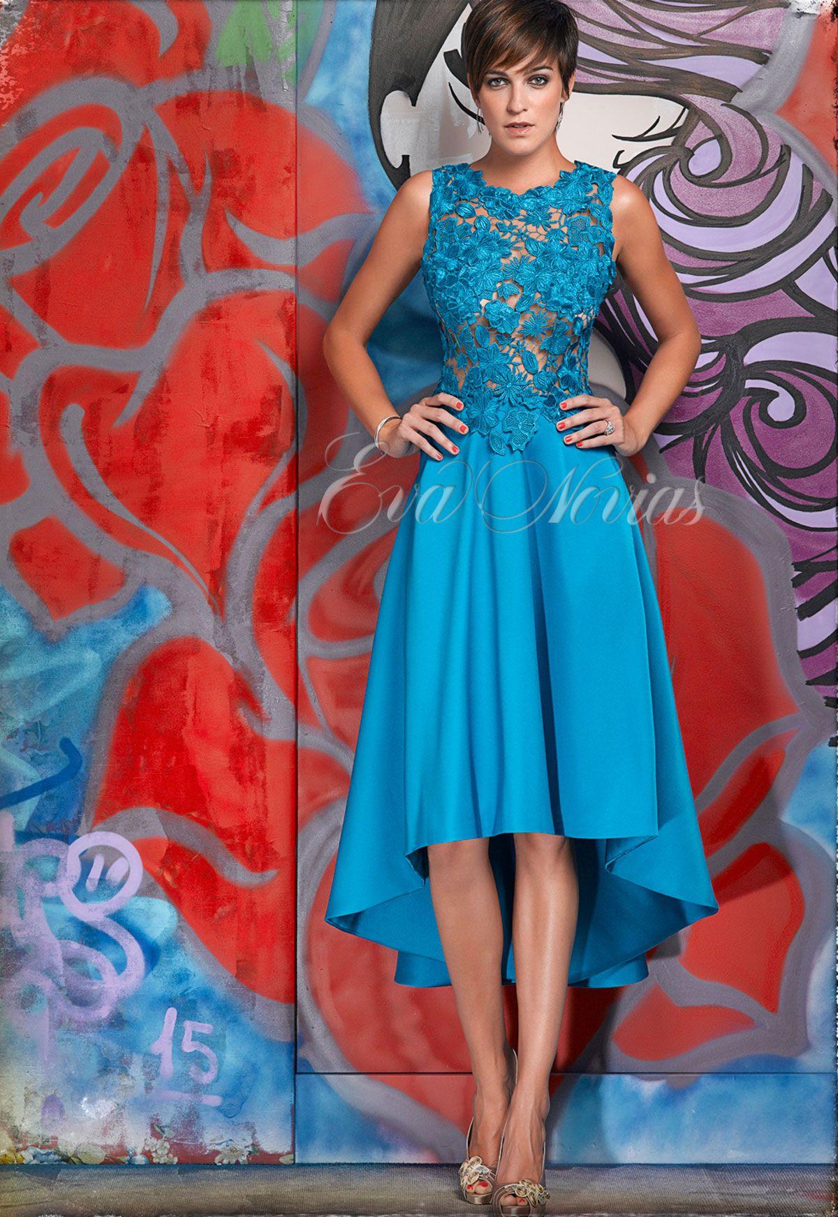 Vestido de fiesta Nacho Bueno 2016 Modelo 5358. #vestido #madrina ...