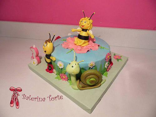 Lovely Maya the Bee Cake, Pcelica Maja torta by Balerina Torte Jagodina   Flickr - Photo Sharing!