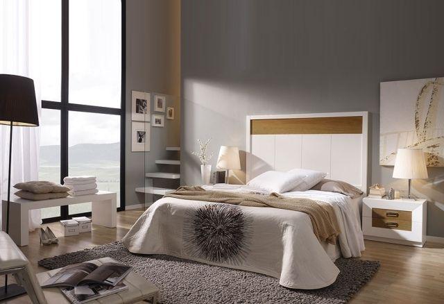 wandfarbe schlafzimmer grau moderne möbel weiß   room makeover ... - Moderne Mobel Schlafzimmer