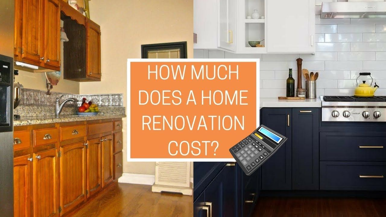 How much does a home renovation cost free calculator simple