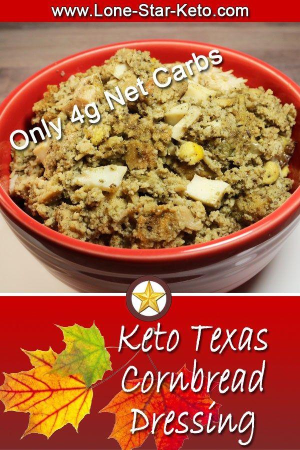 Keto Texas Cornbread Dressing ⋆ Thanksgiving ⋆ Lone Star Keto