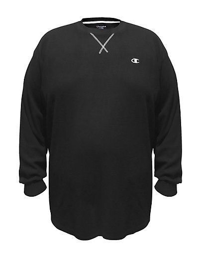 f24ebd3e6f2 Champion Men s Big   Tall Long-Sleeve Thermal Shirt 2 Colors 3XL -6XL XLT -  4XLT  Champion  BasicTee