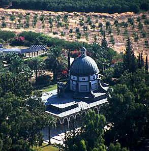 "Mount of Beatitudes-As the name suggest, this is the hill upon which Jesus was said to have preached the ""Sermon of the Mount"" The lie of the land next to the church form a natural amphitheater sloping down to the side, so it is more likely that Jesus stood at the bottom of the hill"