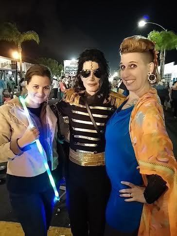 This Michael Jackson impersonator (with Sarah Jordan) was spot on!