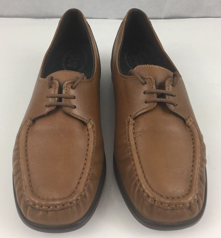 9dab2421597 SAS Womens Handcrafted Comfort Moccasins Brown Leather Shoe 7.5 N Made in  USA  SAS  LoafersMoccasins  Casual